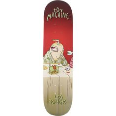 """Toy Machine Romero Last Supper Deck 8.12 Assembled as COMPLETE Skateboard. Brand: Toy Machine - Deck width: 8.12"""". Universo Extremo Boards gets you the ultimate package to turn your favorite DECK into a true COMPLETE SKATEBOARD at one unbelievable low price! - go skateboarding!. PRO: LEO ROMERO. <b>NOTE: PROFESSIONALLY ASSEMBLED CUSTOM COMPLETE with Premium Components by Mini-Logo™: 53mm WHEELS - Skate Rated™ BEARINGS - Lightweight High Performance TRUCKS with High Rebound BUSHINGS…"""