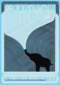 Agua para Elefantes (Water for Elephants) by Rodrigo Sanchez Cover Design, Design Art, Graphic Design, Graphic Prints, Poster Prints, Posters, Water For Elephants, Devine Design, Magazine Art