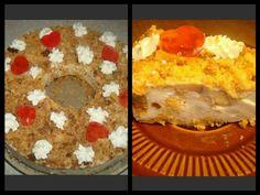 Obuoliu varškės pyragas