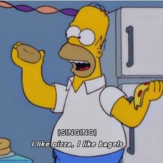 Homer Simpson gets it. Think he forgot donuts though.  #carbmeupfam
