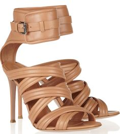 Gianvinto Rossi Leather Sandals