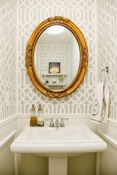 Modern bathroom: http://www.stylemepretty.com/living/2015/05/11/modern-whimsical-townhouse-farewell/ | Photography: Cari Zhu Photograhy - www.carizhu.com