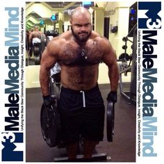 #MaleMediaMind #thick #sexy #LGBT #muscle #hairy #chest #arms #abs #gym #bodybuilding #bear #cub