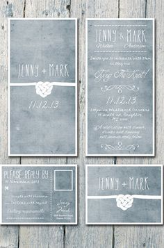 Unique Wedding Invitations - Cheap Handmade Wedding Invitations