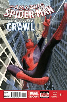 The Amazing Spider-Man #1.1 - Learning to Crawl, Part One: The Show Must Go On