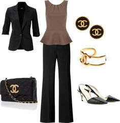 """Chanel Work Outfit"" by linzidawn on Polyvore"