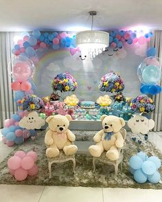 temas para baby shower niña 2018 Baby Shower Unisex, Baby Shower Niño, Baby Shower Backdrop, Baby Shower Gender Reveal, Baby Gender, Baby Shower Parties, Baby Shower Themes, Baby Bash, Baby Shawer