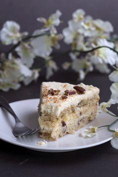 Keto Italian Cream Cake slice