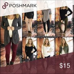 Black Fleece Lined Soft Full Length Leggings NWT Black Fleece Lined Soft & Stretchy Full Length Leggings  Size: One Size   ❄️ Also available in Olive, Chocolate, Burgundy, Navy, Charcoal Gray & Khaki in separate listings ❄️  Lowest Price Up Front  Bundle discounts available  No pp or trades  Item # 1/101280150FLL leggings Pretty Persuasions Pants Leggings