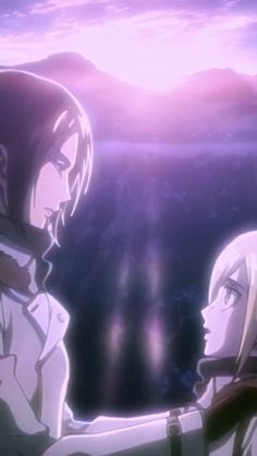Attack On Titan Aesthetic, Attack On Titan Ships, Attack On Titan Fanart, Yuri Anime, Otaku Anime, Anime Films, Anime Characters, Animes Emo, Ymir And Christa