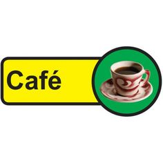 Cafe Dementia Sign, help people with dementia and sight problems by displaying these 'Cafe Dementia' signs around your premises, they assist in maintaining their independence, just peel off the backing strip and stick to your doors. Dementia Care Homes, Cafe Door, Signs Of Dementia, Plastic Signs, Sign Materials, Types Of Doors, Door Signs, Sign Design, Adhesive Vinyl