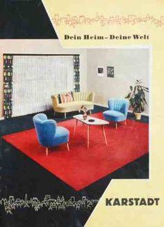50er jahre k chenschrank bunt 50er jahre wohnen. Black Bedroom Furniture Sets. Home Design Ideas