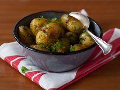 Karamellisoidut perunat