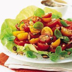 Garlicky tomato salad @ allrecipes.co.uk