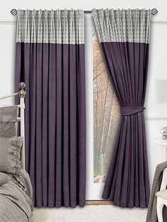 Divinity Ombre Curtains - luxurious and luscious, these rich, striking curtains will bring a glamorous touch to your home. #curtains #borders