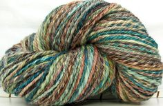HandSpun 3ply Yarn superwash merino wool Almost by kittygrrlz, $46.00