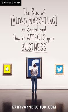 The single most important strategy in content marketing today is video. Whether it's video on Facebook, Twitter, Snapchat or Youtube, the content you need to be thinking about creating and marketing on social for your business is video. Period.