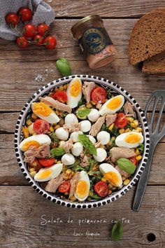 Vegetable Recipes, Mozzarella, Cobb Salad, Salads, Food And Drink, Pasta, Lunch, Vegetables, Cheesecake