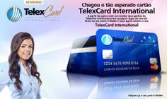 TelexCARD Card TelexFree New TelexFREE, launched yesterday in Brasilia our own debit card., this card will replace Ewallet for charges directly. Now is the turn of TelexCARD More details at any time