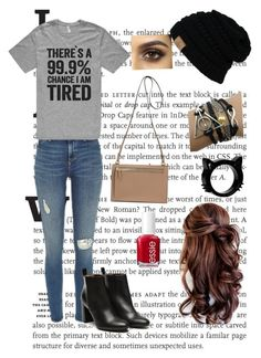 """There's a 99% Chance I'm Tired"" by jessicawednesday ❤ liked on Polyvore featuring Stephane Kélian and Essie"