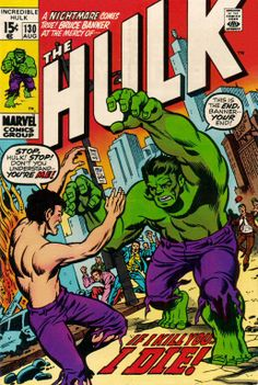 Incredible Hulk # 130 by Herb Trimpe