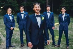 40 Awesome navy suit groomsmen images                                                                                                                                                                                 More
