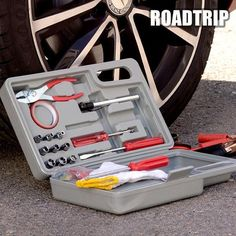 Road Trip Emergency Tool Kit for Cars