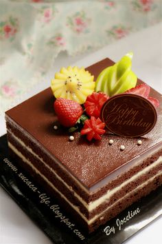 Cupcakes, Cupcake Cakes, Square Birthday Cake, Opera Cake, Tiramisu Cake, Marble Cake, New Cake, Cheesecake Bites, Birthday Cake Decorating