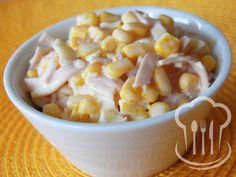 Šalát - kukuricový Macaroni And Cheese, Menu, Vegetables, Ethnic Recipes, Food, Menu Board Design, Mac And Cheese, Veggies, Essen