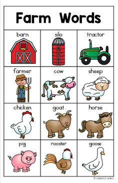 Farm Writing Center Write About The Farm With This Farm Themed Writing Center Pack It Has Everything You Need For Prek And Kindergarten Writing Farm Activities, Toddler Learning Activities, Kids Learning, Farm Lessons, Preschool Lessons, Farm Animals Preschool, Preschool Farm Theme, Preschool Word Walls, Zoo Animals
