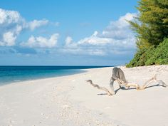 Finally SI made it to Desroches Island in the Seychelles, a stunning stretch of sand less than 1 square mile.