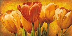 pinturas al oleo abstractas de flores - Buscar con Google                                                                                                                                                                                 Más