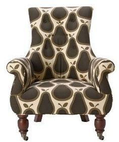 Astrid Chair, Pears...would look great in a golden yellow room..or lime green, or orange, or..:)