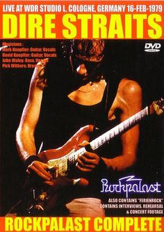 Dire Dire Straits, Mark Knopfler, Cologne, Interview, Germany, Studio, Concert, Movie Posters, Art