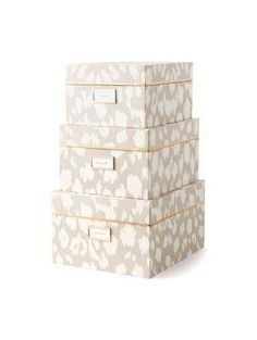 ikat nesting boxes - Kate Spade New York