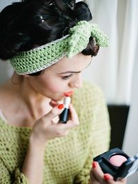 Free Crochet Pattern: Maia Headband by Claire Montgomerie - Inside Crochet Magazine Blog | Inside Crochet
