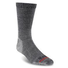 Fits Men's Light Rugged Crew Socks