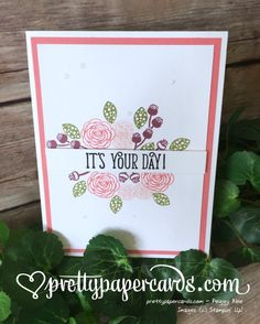 The Remarkable InkBig Blog Hop! - Pretty Paper Cards