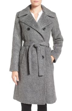 Ivanka Trump Double Breasted Coat available at #Nordstrom