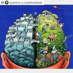 """#Repost @quantica_e_espiritualidade """"A poluição do planeta é apenas um reflexo externo de uma poluição interior psíquica gerada por milhões de indivíduos inconscientes, sem a menor responsabilidade pelos espaços que trazem dentro de si"""". . Eckhart Tolle"""