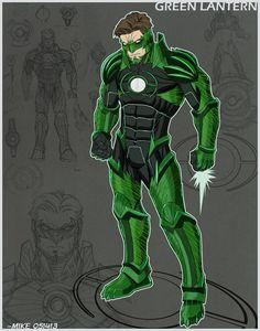 Project Rooftop- Green Lantern redesign by MikeDimayuga.deviantart.com on @deviantART