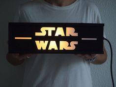 Caja de luz Chachachá Handmade - Modelo STAR WARS