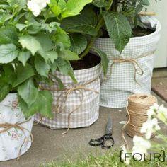 Fabric potwrap from Stephanie Lynn's blog