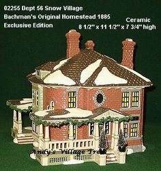 One of my favorites that I have from dept 56, the original snow village