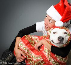 Angels come in many forms. Some live with us for years as constant, treasured companions while others are only in our lives for brief but magical periods of time. One such angel came in the form of a pit bull named Sweetie, whose story is beautifully portrayed in the Unexpected Pit Bull 2014 Calendar.