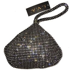 "BEA118R Newly Enlarged Full Rhinestoned Fashion Wristlet Stunning Evening Purse Wedding Prom Clutch Holiday Gift (black). BEA118RM Fully Rhinestone wristlet, this is a latest enlarged size. Bigger than then original design. Size: 7.5"" x 6"" x 1"" (19 cm x 15 cm x 2.5 cm ), Zipper Closure; A eye-cacthing stunning wristlet. Big enough for most of your daily stuffs , iphone6 /6S Plus are suitable. A perfect wristlet for all events, a nice gift for holiday birthday wedding Christmas and more…"