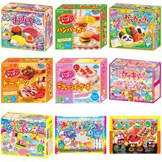 Kracie Popin Cookin 9 Item Bundle with Sushi, Hamburger, Bento, Takoyaki, Cake Shop and More Kracie http://www.amazon.com/dp/B00K5D4NDC/ref=cm_sw_r_pi_dp_woFjvb159A6TW