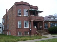 Al Capone's modest Chicago house, back in the day.  My grandfather was Al Capone's paper boy back in the day!