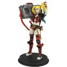 SDCC 2017 DC REBIRTH HARLEY QUINN BOOMBOX PX STATUE - (SRP: $50.00) Limited to 2,500 pieces