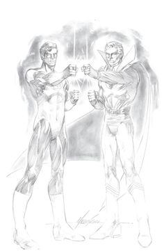Green Lanterns by Mike Grell